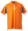 Men's 1/4 Zip Coolbest Raglan Golf Shirt