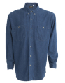 Men's Casual Button Down Shirt, with 2 Chest Pockets