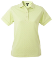 Ladies Mini Checkered Tone-on-Tone Golf Shirt
