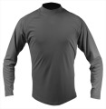 Interlock Quick Dry L/S Solid Mock Neck Shirt