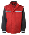 Men's Uniform Jacket with Quilted Vest