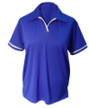 Ladies Coolbest Golf Shirt with Contrast Piping