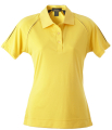 Ladies Chitosante Interlock Golf Shirt with Sleeve Inserts