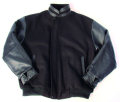Men's Melton Leather Jacket