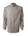 Men's Long Sleeve Button Down Shirt, with 1 Chest Pocket
