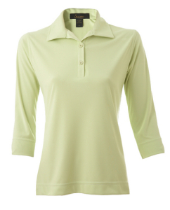 Ladies 3/4 Sleeve Chitosante Interlock Golf Shirt