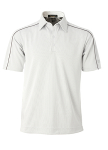 Men's Bamboo Charcoal Golf Shirt with Piping